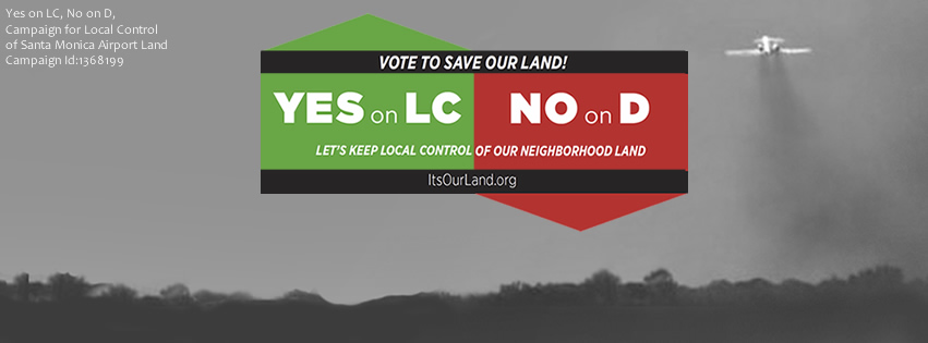 Yes on LC, No on D Facebook Cover Photo