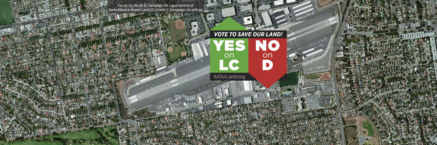 Yes on LC, No on D - Twitter Cover Photo